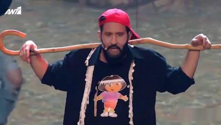 Η απίστευτη εμφάνιση του Λευτέρη Ελευθερίου στη σκηνή Your Face Sounds Familiar