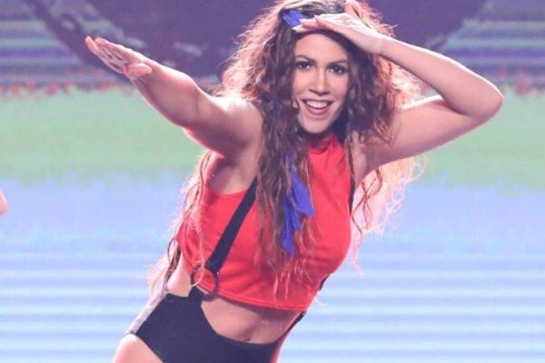 Η εντυπωσιακή εμφάνιση της Κατερίνας Στικούδη ως Shakira στο Your Face Sounds Familiar