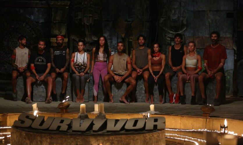 Αυτοί είναι οι παίκτες από την κόκκινη ομάδα του Survivor που είναι υποψήφιοι για αποχώρηση