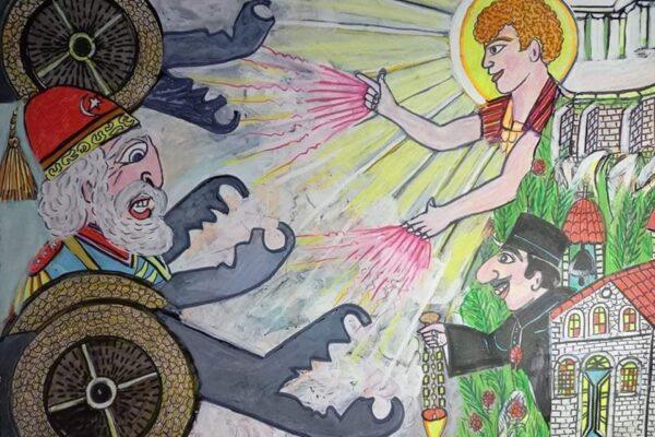 Ο Καραγκιόζης & το θαύμα του Αγίου Δημητρίου του Λουμπαρδιάρη στην Ακρόπολη