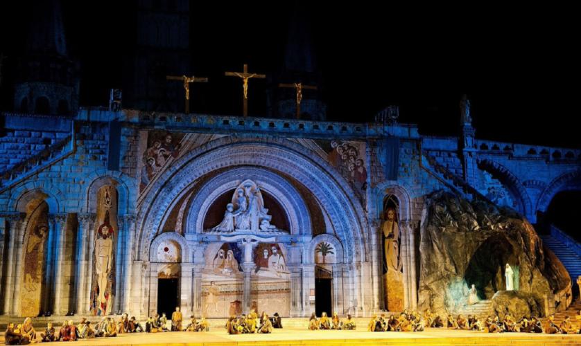 Το θαύμα της Λούρδης στο Christmas Theater on Line