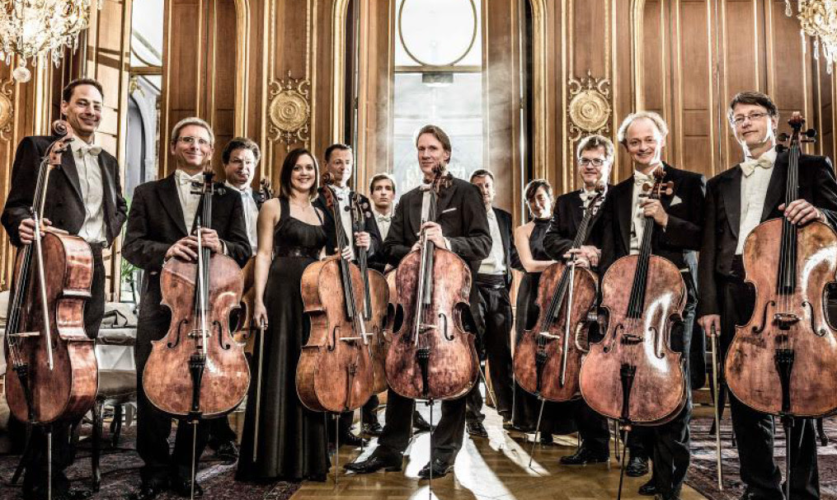 The 12 Cellists της Φιλαρμονικής Ορχήστρας του Βερολίνου