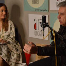 Ο Ιεροκλής Μιχαηλίδης σε μια κουβέντα με...αυτοσχεδιασμούς στο Art Podcast της Γιώτας Τσιμπρικίδου
