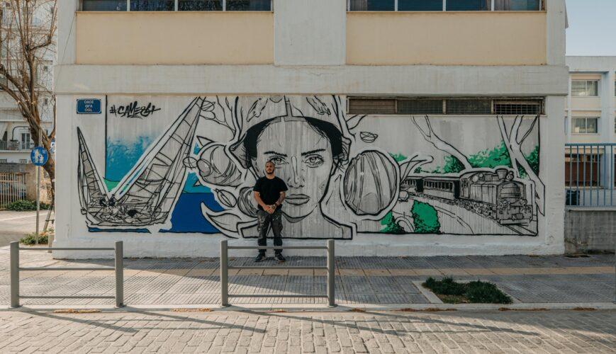 Η Τέχνη του Δρόμου της ΕΡΤ3 στον Βόλο