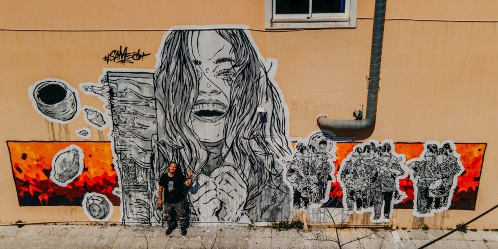 Η Τέχνη του Δρόμου της ΕΡΤ3 στην Κέρκυρα