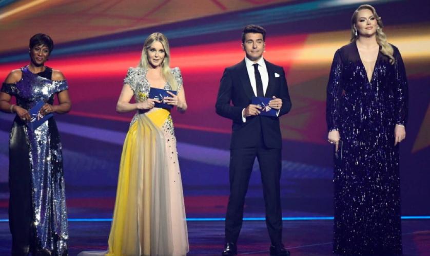 Η εντυπωσιακή έναρξη του Ά Ημιτελικού της Eurovision και οι 4 παρουσιαστές του διαγωνισμού