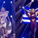 Eurovision 2021: Έλενα Τσαγκρινού και Στεφανία Λυμπερακάκη εντυπωσίασαν στην παρέλαση της έναρξης