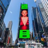 Η Έλενα Τσαγκρινού μπήκε σε billboard στην Times Square