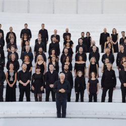 """Ωδείο Ηρώδου Αττικού    Οι """"36 Ελληνικοί χοροί για ορχήστρα"""" του Νίκου Σκαλκώτα    από τη Φιλαρμόνια Ορχήστρα Αθηνών - Καλλιτεχνική Διεύθυνση: Βύρων Φιδετζής"""