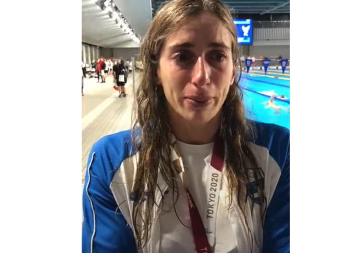 Τα δάκρυα της Άννας Ντουντουνάκη για τον αποκλεισμό από τον τελικό των Ολυμπιακών Αγώνων