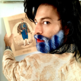 """O Θάνος Λέκκας στη παράσταση """"1821 H ΕΠΙΘΕΩΡΗΣΗ"""""""