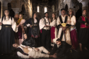 Πρεμιέρα για την παράσταση Κάντω Τζαβέλλα – Έρωτας στα χρόνια της Επανάστασης