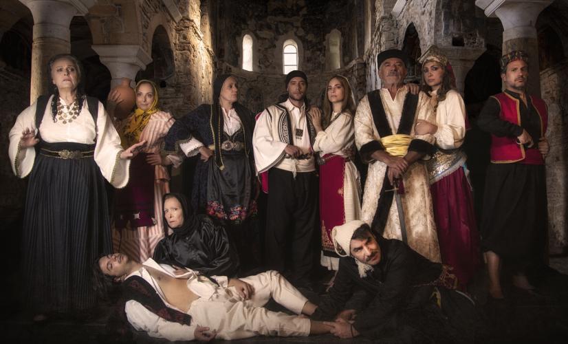 Πρεμιέρα για την παράσταση Κάντω Τζαβέλλα - Έρωτας στα χρόνια της Επανάστασης