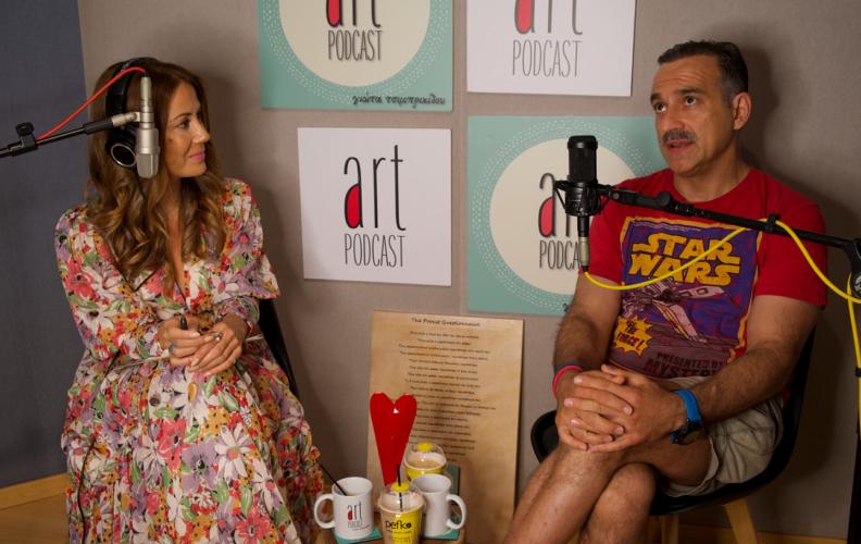 Ο Κρατερός Κατσούλης μιλάει για όλα στη Γιώτα Τσιμπρικίδου και το #29 Art Podcast