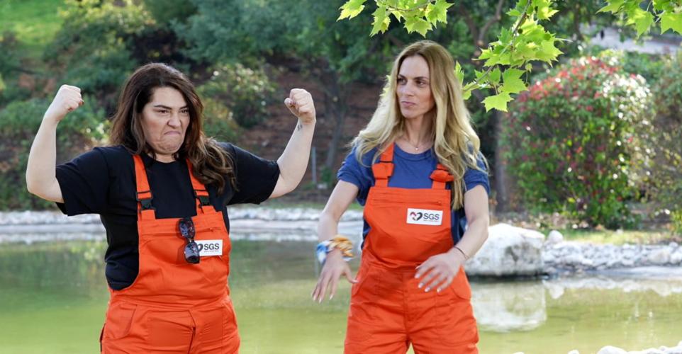Ντορέττα Παπαδημητρίου & Κατερίνα Ζαρίφη: Εθελόντριες για τα αδέσποτα της Save A Greek Stray