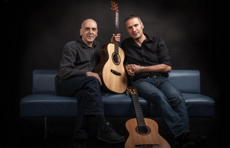 Ορφέας Περίδης & Μανόλης Ανδρουλιδάκης στο Faliro Summer Theater