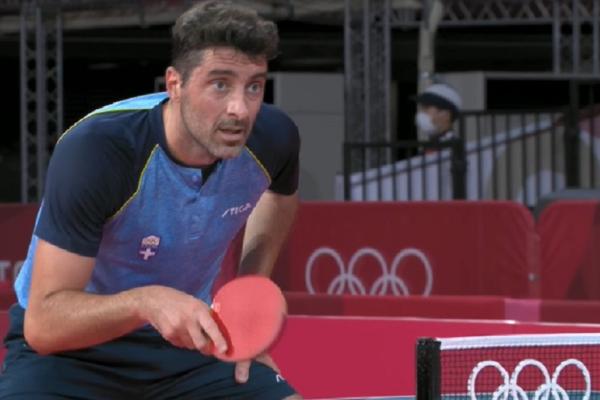 Ολυμπιακοί Αγώνες: Ο Γκιώνης πέρασε στον 3ο γύρο του πινγκ πονγκ | Δεν μετέδωσε τον αγώνα η ΕΡΤ