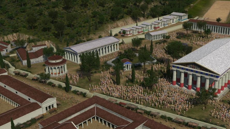 """Το ντοκιμαντέρ """"Αγώνες στην Αρχαία Ολυμπία"""" στην ΕΡΤ3"""
