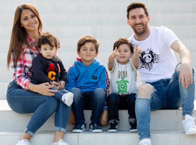 Οι viral πανηγυρισμοί των γιων του Messi για την κατάκτηση του Copa America