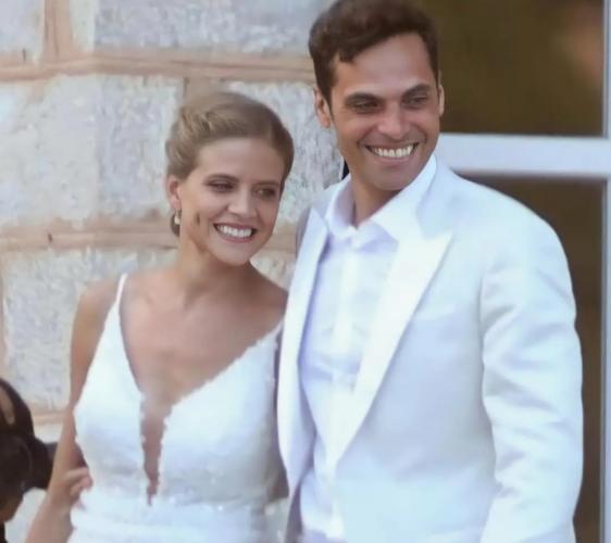 Ο Γιώργος Παπαγεωργίου μιλάει πρώτη φορά για τον γάμο του με την Δανάη Μιχαλάκη