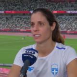 Τα πρώτα λόγια της Κατερίνας Στεφανίδη μετά την κατάκτηση της 4ης θέσης στους Ολυμπιακούς Αγώνες