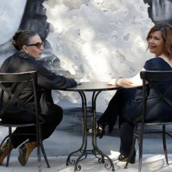 Λίνα Νικολακοπούλου-Δάφνη Αλεξανδρή // Σε ρώταγα στο Φάληρο με την Εβελίνα Αγγέλου || Νέο τραγούδι