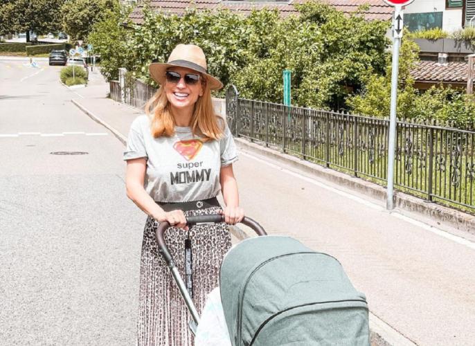 Η νέα τρυφερή φωτογραφία της Μαρίας Ηλιάκη με την τρεισήμισι μηνών κορούλα της