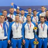 Η Εθνική πόλο επέστρεψε στην Ελλάδα μετά το ασημένιο μετάλλιο από τους Ολυμπιακούς Αγώνες του Τόκιο