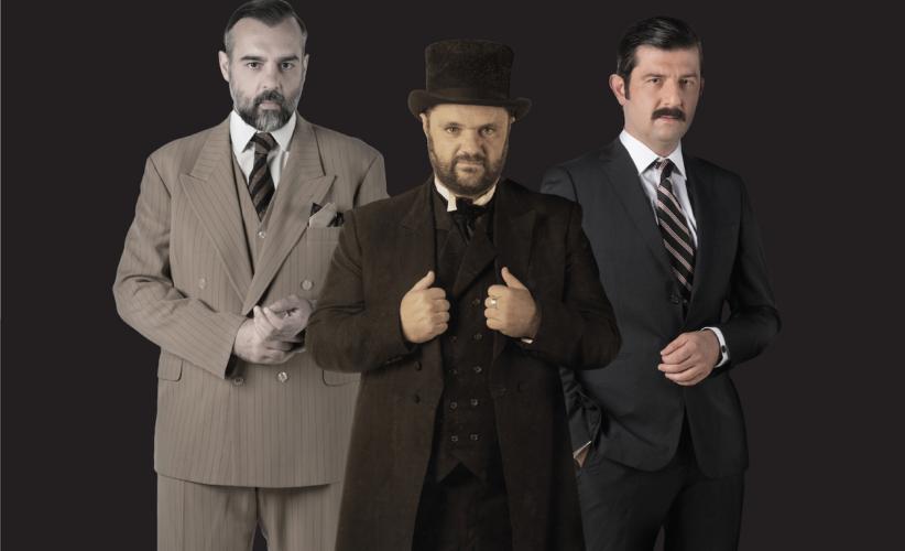 Η τριλογία των Λήμαν Μπράδερς στο Θέατρο Ιλίσια