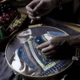 Ίδρυμα Γεωργίου και Βικτωρίας Καρέλια   Με 2.000 επισκέπτες ολοκληρώθηκε η πολυαναμενόμενη έκθεση των Βαγγέλη Κύρη και Anatoli Georgiev «Ένδυμα ψυχής»