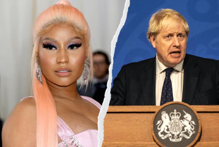 «Πόλεμος» Boris Johnson-Nicki Minaj για τα εμβόλια και τα fake news περί στειρότητας