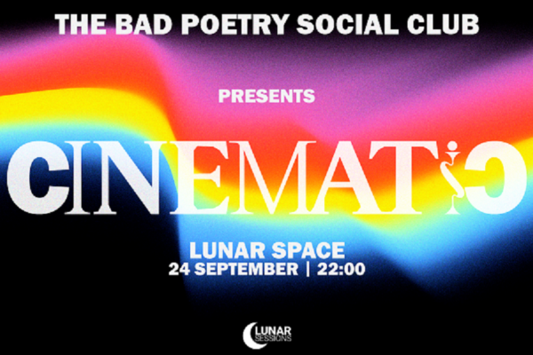 Drive-in / Lunar Space — Bad Poetry Social Club – 24 Σεπτεμβρίου / Lunar Sessions
