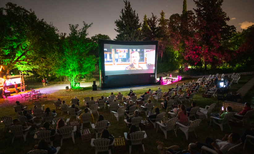 Cine Αλίκη: Κινηματογραφικές προβολές στο Πεδίον του Άρεως