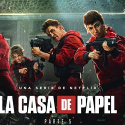 Σαρώνει και στην Ελλάδα το La Casa de Papel: Στην 1η θέση του top10 μόλις κυκλοφόρησε!