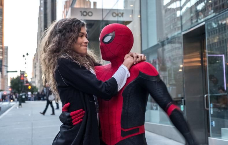 Mega Cinema   Spider-Man: Μακριά από τον τόπο του σε Ά τηλεοπτική μετάδοση
